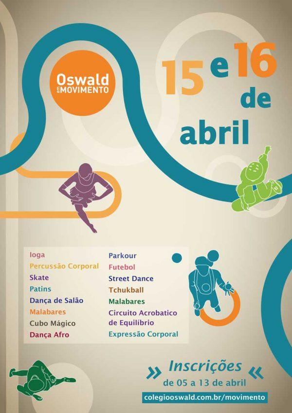 cartaz oswald em movimento 2016