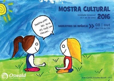 Mostra Cultural Girassol 2016 narrativas da infância