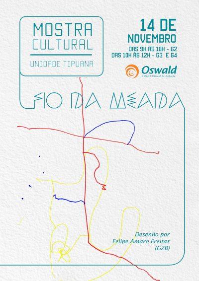 Mostra Cultural Tipuana 2015 fio da meada