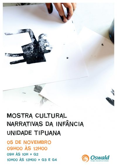 Mostra Cultural Tipuana 2016 narrativas da infância