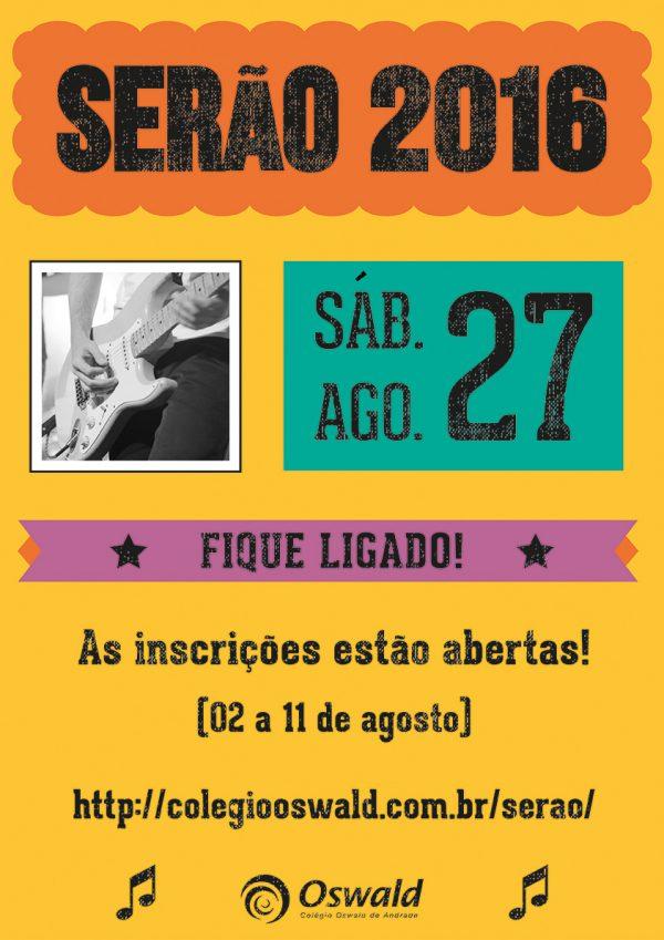 cartaz serão 2016