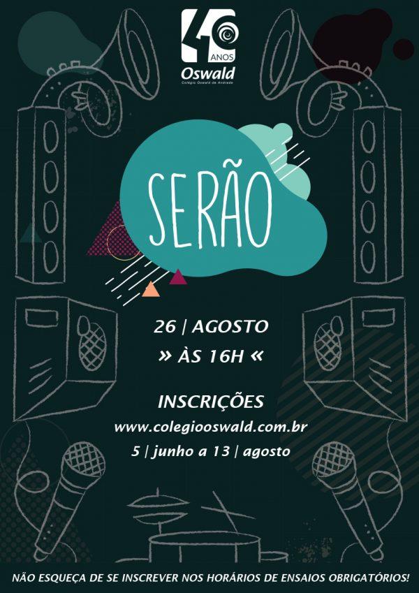 cartaz serão 2017