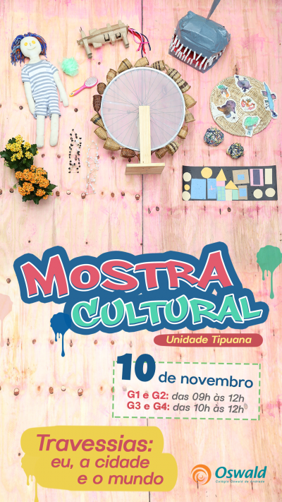 Mostra Cultural Tipuana 2017 os materiais falam