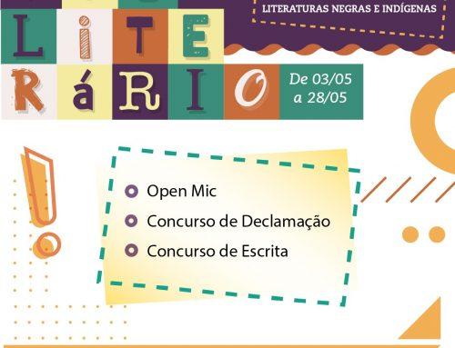 """Mês Literário 2021 – """"Múltiplas vozes nas literaturas negras e indígenas"""""""